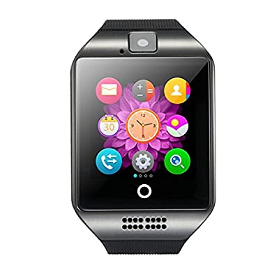 Smart Watch Q18 Activity Tracker SHFY Bluetooth Touchscreen Support TF/SIM Card Slot with Camera for IOS iPhone Android Samsung Wearable Equipment