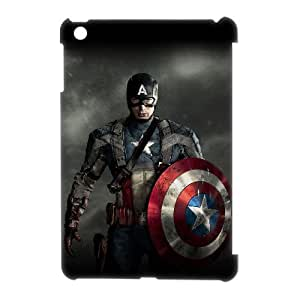 ANCASE Captain America Pattern 3D Case for iPad Mini