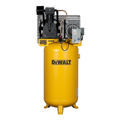 DeWalt DXCMV7518075 Two-Stage Cast Iron Industrial Air Compressor, 80-Gallon (Stage Two Air Accessories Compressor)