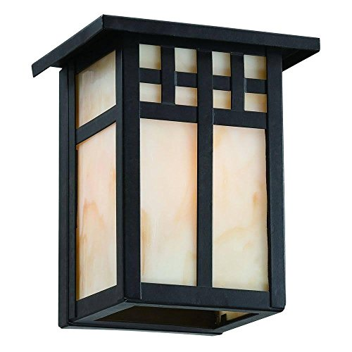 Hampton Bay Coleville Wall Mount 1 Light Glendale Bronze Outdoor Lantern      Amazon.com