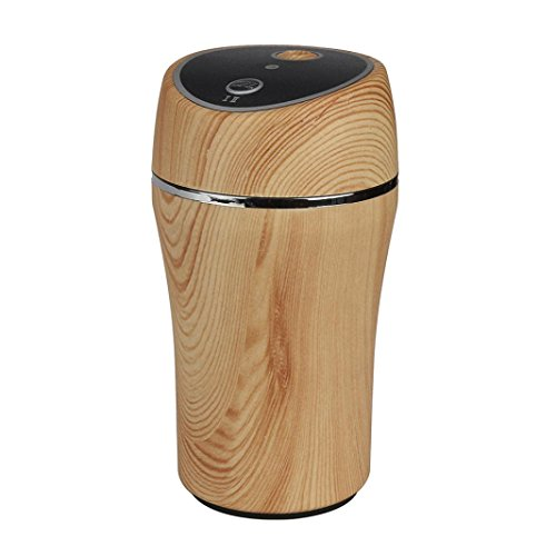 Lucoo Mini Car Air Humidifier Diffuser Essential Oil Ultrasonic Aroma Mist Purifier for Office Home Bedroom Living Room Study Yoga Spa (Yellow)