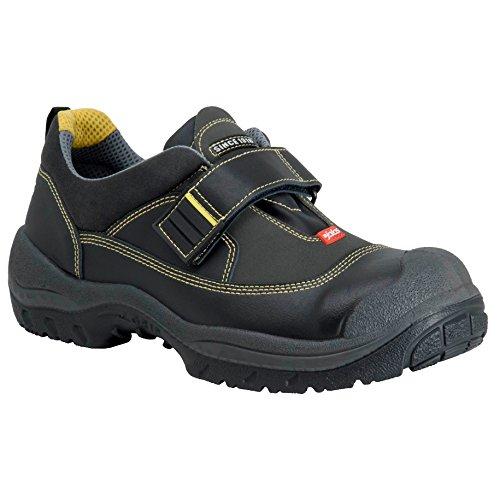 Ejendals 3358s-46 Taille 46 Jalas 3358s Chaussure De Sécurité Easy Grip, Couleur: Noir / Gris / Jaune