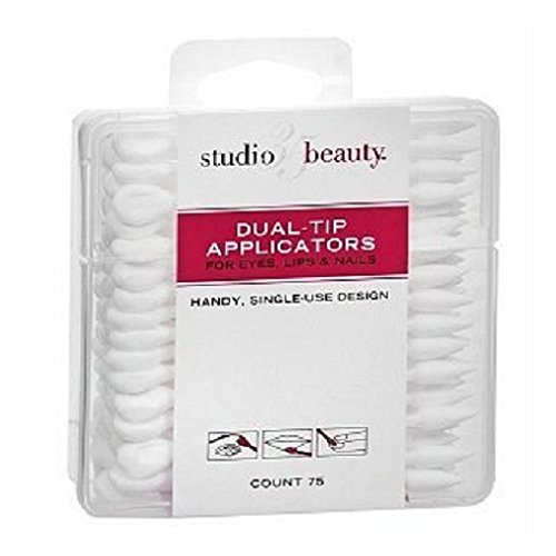 Amazon Com Studio 35 Dual Tip Cosmetic Applicators 75 Ea