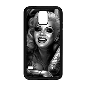 Zombie Marilyn Monroe Brand New Cover Case for SamSung Galaxy S5 I9600,diy case cover ygtg691406