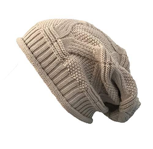 - Dressin_Hat Man Women Casual Outdoor Knitted Hats Crochet Knit Hip-hop Cap Woolen Hole Caps