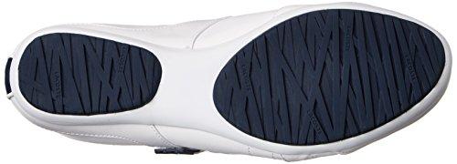 Lacoste Kvinna Arixia Lcr Mode Sneaker Vit / Mörkblå