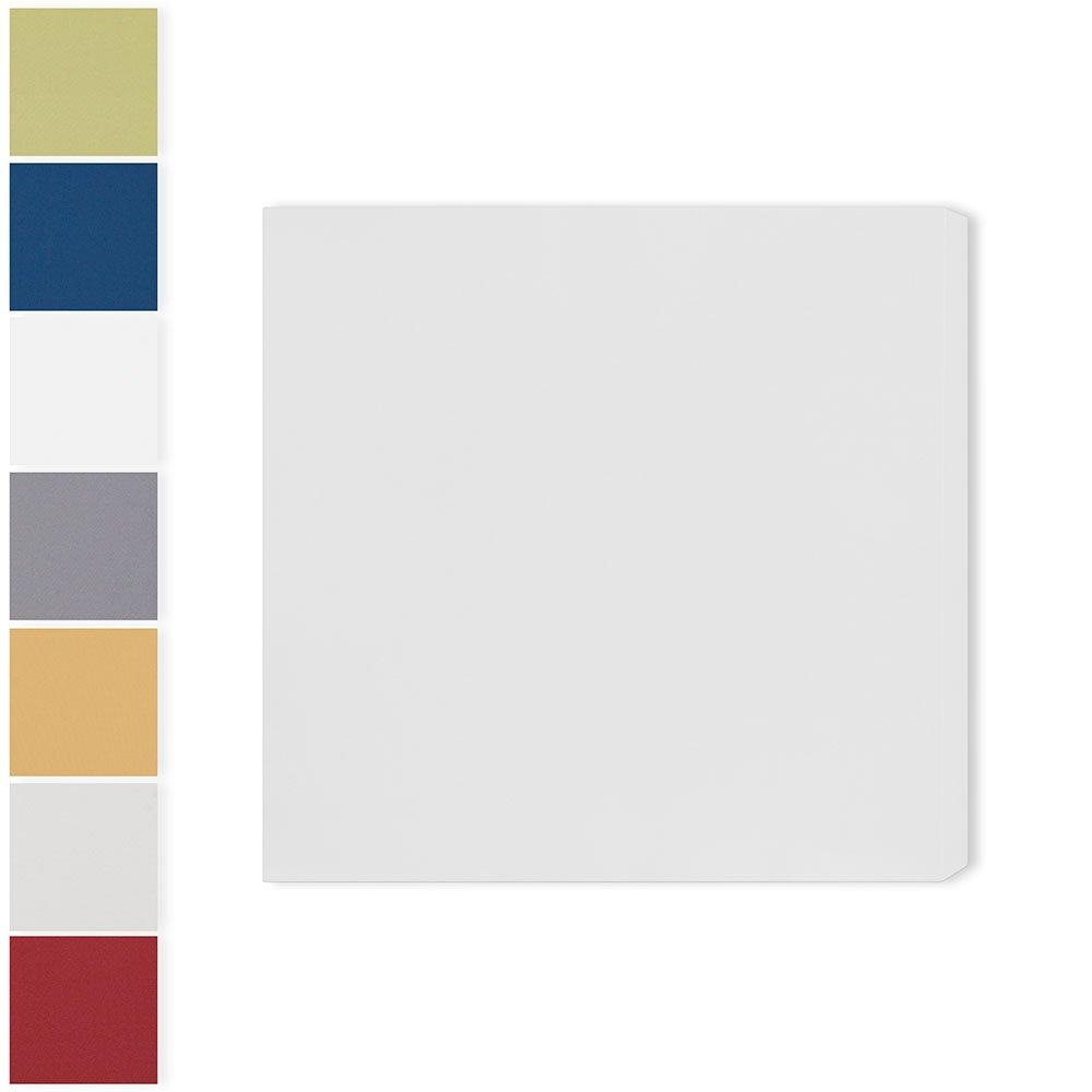 Hochleistungsschallabsorber'Classic Pro S': 58 * 58 * 6.5cm, Weiß II   Akustikbild   RaiWai Acoustics