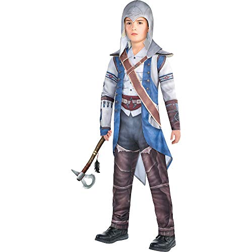 Party City Connor Halloween Costume for Boys, Assassin's Creed, Large, Includes ()