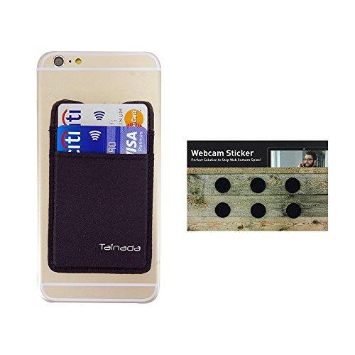 6aeafa3eb17b Amazon.com: Phone Stick On Card Holder Wallet, Tainada Adhesive RFID ...