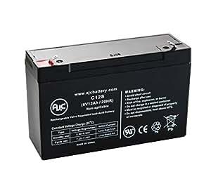 Batería de Luces de emergencia de 6V 12Ah Emergi-Lite 12-KSM-54 - Es un recambio de la marca AJC®