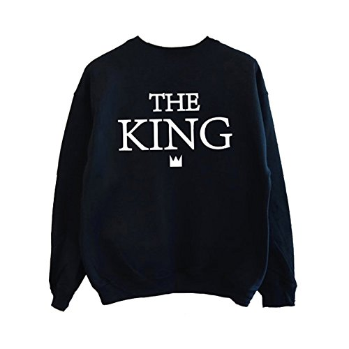 Couple King Kim 3xl The Manches Homme Pullover Amp; Sweat Femme EDI2W9H