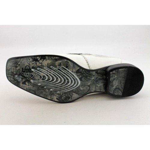Kenneth Cole Reaksjon Menns Den Rette Noten Hvite Loafers