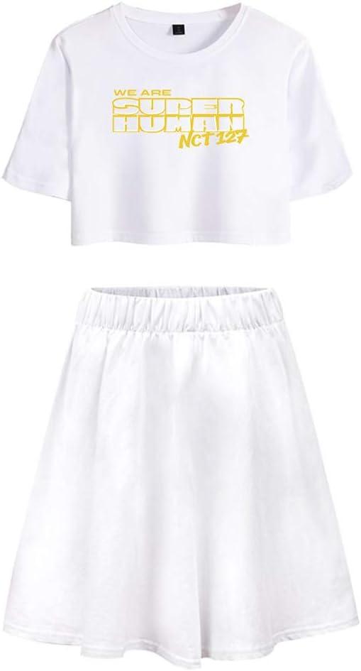 NCT127 Falda KPOP We Are Super Human Camiseta Lumbar del Verano De ...