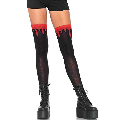 Leg Avenue Womens Blood Drip Knee Socks]()