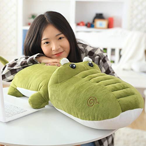 Vert de Fruit 80cm Le Grand Crocodile De Dessin Animé Mourant Mignon étreint Le Cadeau De Poupée en Peluche d'oreiller 160Cm Vert Peluche