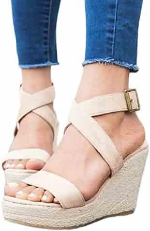 2b46ddad93c77 Shopping Last 30 days - 1 Star & Up - Platforms & Wedges - Sandals ...