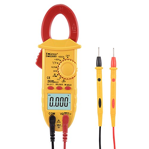 uxcell Mini Digital Multimeter AC DC Ammeter Voltage ACV ...