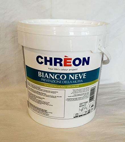 Lechler Chreon Bianco Neve 5 Lt Idropittura Murale Antimuffa Amazon It Fai Da Te