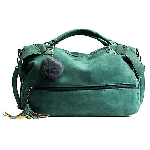 Tracolla Bag Pelle In Pu Borsa Tote Mano Hobo Pangoie Green A Con w0BSqv