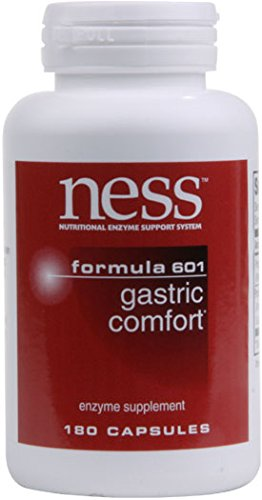 (NESS Enzymes Gastric Comfort formula #601 180 caps )