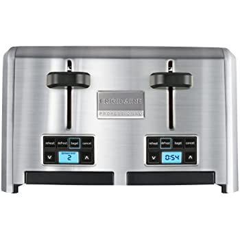 Frigidaire Professional Stainless 4-Slice Wide Slots Toaster