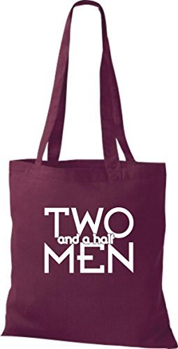 Shirtinstyle - Cotton Fabric Bag For Women - Garnet