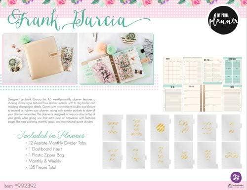 Prima Marketing Frank Garcia Mademoiselle Chic My Prima A5 Planner Inserts
