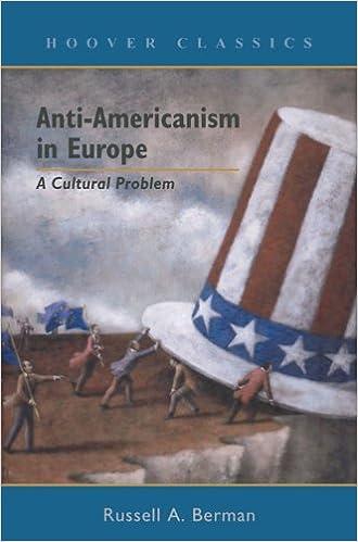 Anti Americanism In Europe A Cultural Problem Hoover Classics