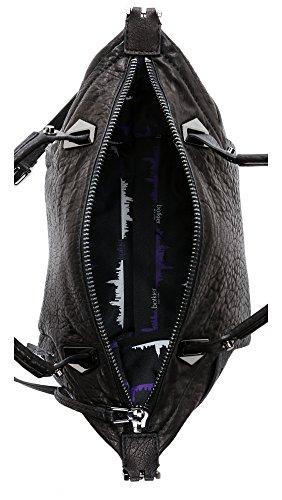 Botkier Size Satchel Women's Black Flatiron One rBrqZ0