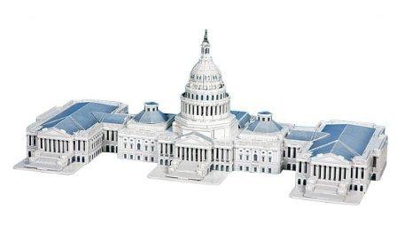 Capitol Hill Puzzle 132 Pieces
