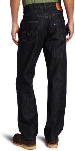 Levi's Men's 550 Relaxed-fit Jean, Tumbled Rigid, 42X29