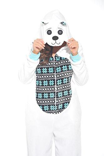 Just Love 6305-4-Bear Jumpsuit for Kids/Pajamas
