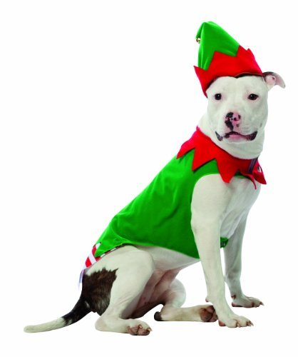 Dog Elf Costumes (Rasta Imposta Elf Dog Costume, XXX-Large)