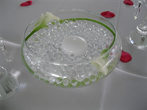 Sublime Gifts Water Beads for Wedding, Holiday, All Occasion Home Decor - 10 Gram Pack - Makes 1 Quart (4-5 Cups) (Clear)