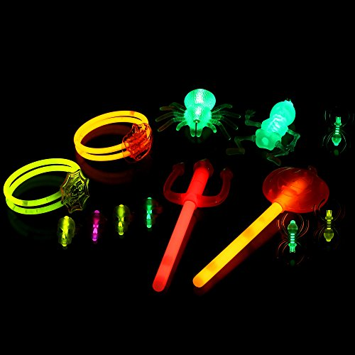 Fun Central (BC825, Halloween Glow Party Pack -