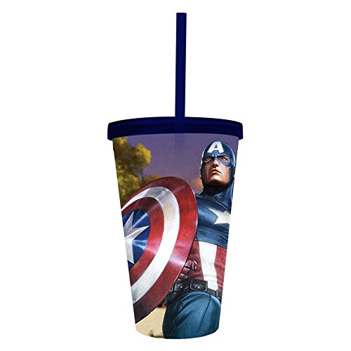 Captain America - Captain Holding Flag All-Over Carnival Cup