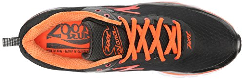 ZootZoot SOLANA Herren Laufschuhe - zapatillas de running Hombre Varios Colores - Mehrfarbig (black/pewter/solar flare)