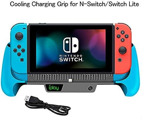 Cargador de batería de 6000 mAh para Nintendo Switch/Switch Lite ...