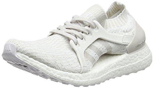 adidas Damen Ultraboost X Laufschuhe, Elfenbein (Ftwbla/Griper/Balcri), 36 EU