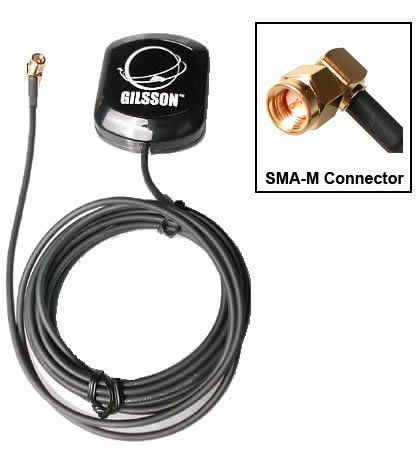 Gilsson High Performance GPS Antenna Antenna w/ 50ft Cable for Verizon 4G LTE eFemto SLS-BU1023, SLS-BU102 Network Extender ( 3G Network Extender Antenna is available, please email us for detail) by Gilsson