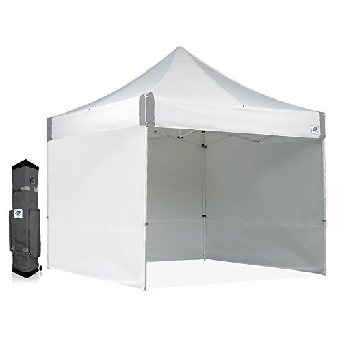 Commercial Shelter - E-Z UP ES100S Instant Shelter Canopy, 10 by 10', White