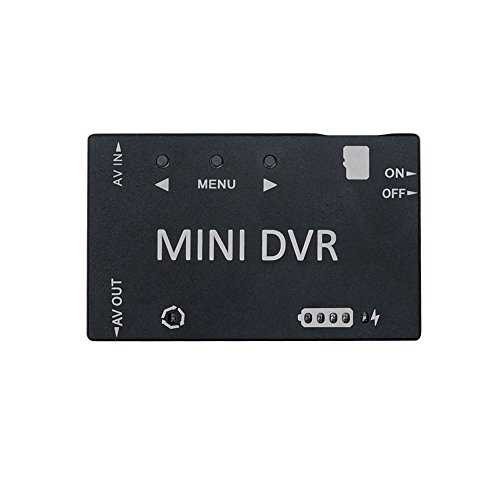 (Mini FPV DVR, ARRIS 5.8Ghz FPV Goggles Micro HD Digital Video Audio Recorder for FPV Racing Drone)