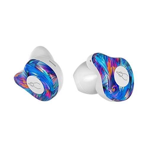 OmkuwlQ Wireless Earphones Bluetooth 5.0 Headset Sport Stereo Headset Handsfree Waterproof Earbuds (Best Earphones Under 20 Pounds)