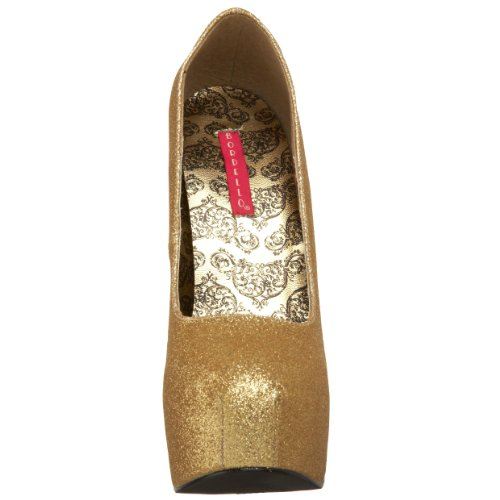 TEEZE Gold Mini 31G EU 37 4 UK Gltr Bordello 1UwPxqP