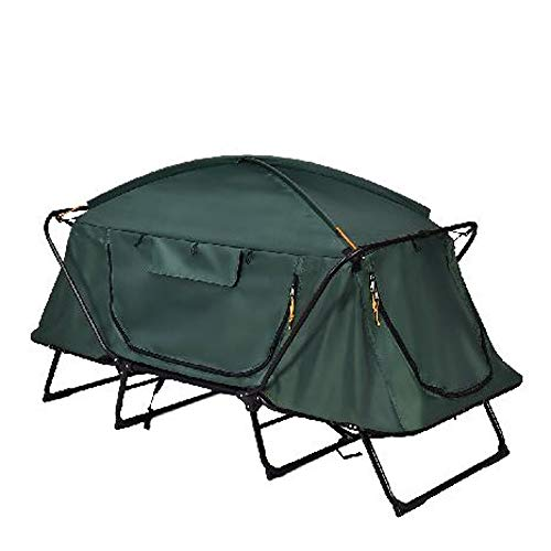 GT Camping Tent Elevated Outdoor Camping Tent Portable RV Camping Tent Adults Lightweight Collapsible Waterproof Compact Camping Tent & E Book Easy2Find.