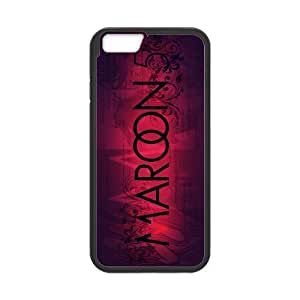 """D-PAFD Diy Maroon 5 Pattern Cover Phone Case For iPhone 6 (4.7"""")"""