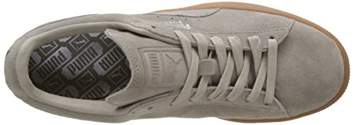 Puma Unisex Adults' Suede Classic Citi Low-Top Sneakers, Black, One Size Fits All Beige (Vintage Khaki 02)