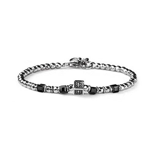 Bracelet MARIA Cristina Sterling Tuscany Man g3007Argent Pierres Dures