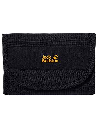 (Jack Wolfskin Cashbag RFID Wallet, Black, 1.5 L)