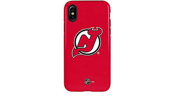 Amazon.com  New Jersey Devils iPhone X Case - New Jersey Devils Solid  Background  255861ce4